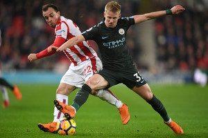 Зинченко – худший полевой игрок Манчестер Сити в матче со Стоком