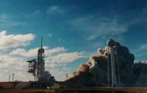 Обнародовано новое видео запуска Falcon Heavy