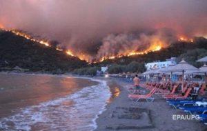 Пожар в Греции: число жертв возросло до 79 человек