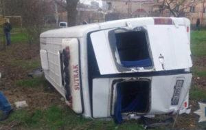 В Одесской области в ДТП с микроавтобусом пострадали 11 человек