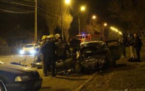 В Мариуполе в столкновении двух легковушек погибли три человека