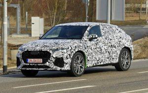 Audi RS Q4 показали на шпионских фото