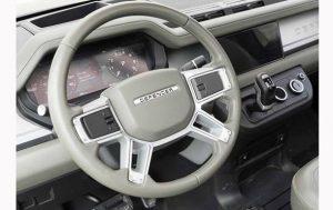 В Сети показали салон нового Land Rover Defender