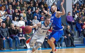 Днепр в третий раз подряд завоевал Кубок Украины по баскетболу