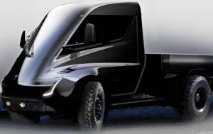 Маск опубликовал фото будущего пикапа Tesla