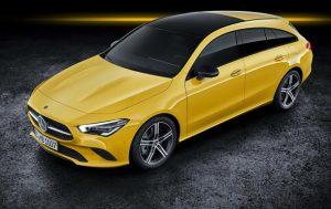 Немцы показали новую версию Mercedes-Benz CLA