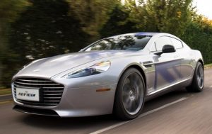 Бонд пересядет на электрический Aston Martin Rapide E