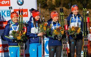 Украина огласила состав на женскую индивидуальную гонку в Эстерсунде