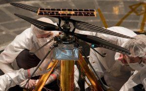NASA завершило испытания вертолета для Марса