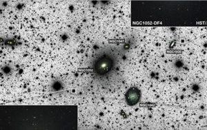 Астрономы нашли вторую галактику без черной материи