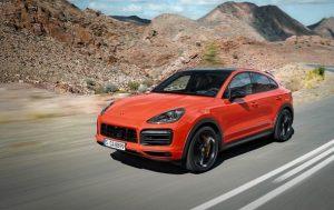 Porsche представил новый Cayenne Coupe