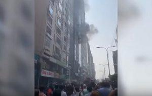 Пожар небоскреба в Дакке: число жертв достигло 25