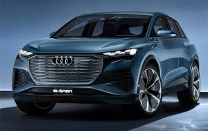 В Женеве дебютировал электрокар Audi Q4 e-tron