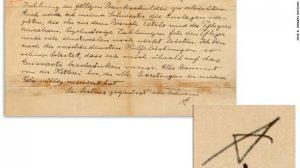 Письмо Эйнштейна продали на аукционе за $134 тысячи