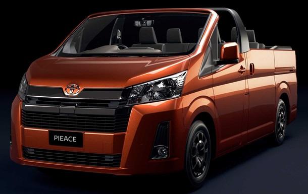 Toyota превратила минивэн HiAce в кабриолет