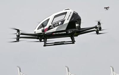 В Австрии впервые в Европе испытали воздушное такси