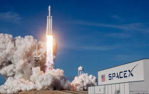 Появилось видео взрыва ступени ракеты SpaceX