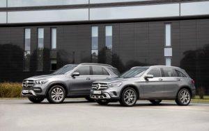 Mercedes презентовала гибридные GLE и GLC