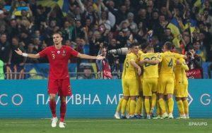 Украина победила Португалию и вышла на Евро-2020