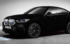 BMW показала авто с самым черным в мире покрытием