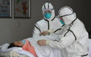 Появились снимки пораженных коронавирусом легких