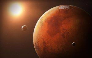 В NASA показали марсианские песчаные дюны